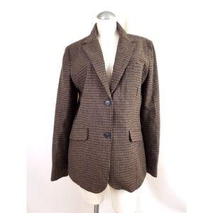 Eddie Bauer Size 16 Blazer Wool Blend
